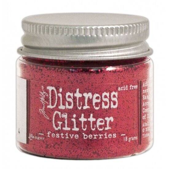 Ranger - Tim Holtz - Distress Glitter - Festive berries