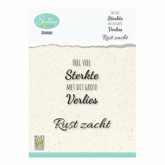 Nellie's Choice - Clear Stamps - Heel veel sterkte
