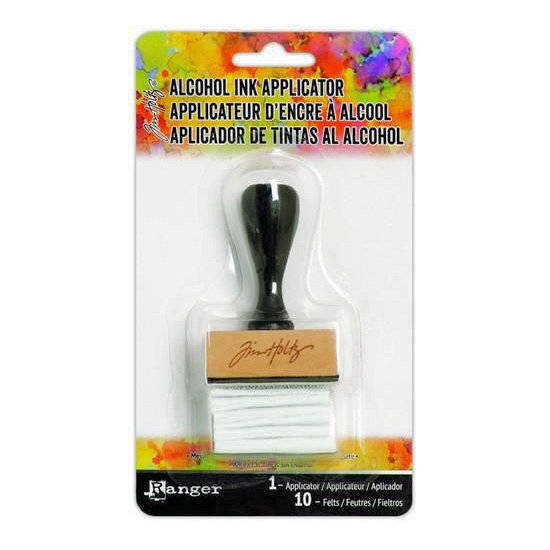 Ranger-Tim Holtz-Alcohol ink  applicator tool handle with felt
