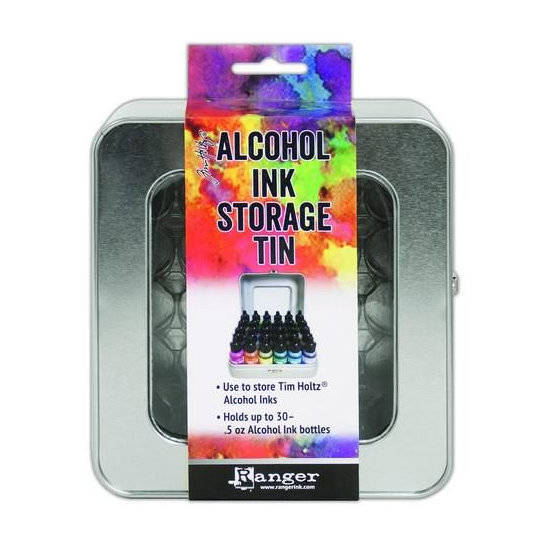 Ranger-Tim Holtz-Alcohol Ink-Storage Tin