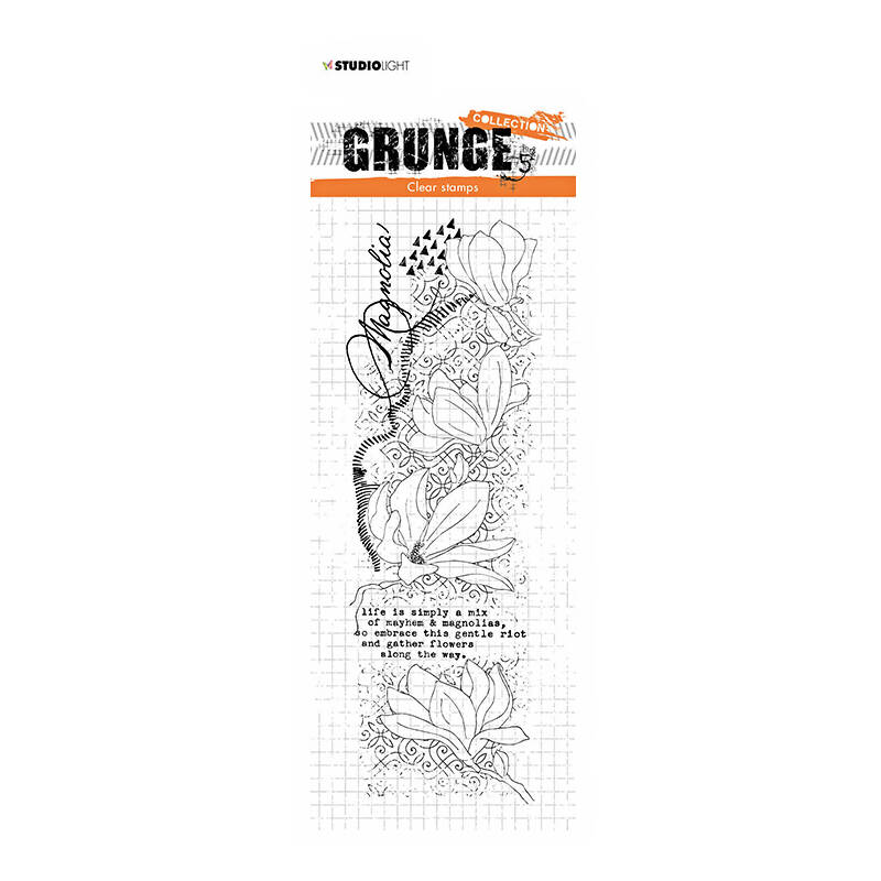 Studio Light - Clear stamp - Grunge Collection - nr.38