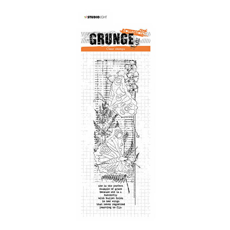 Studio Light - Clear stamp - Grunge Collection - nr.40