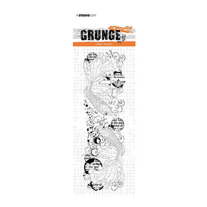 Studio Light - Clear stamp - Grunge Collection - nr.41