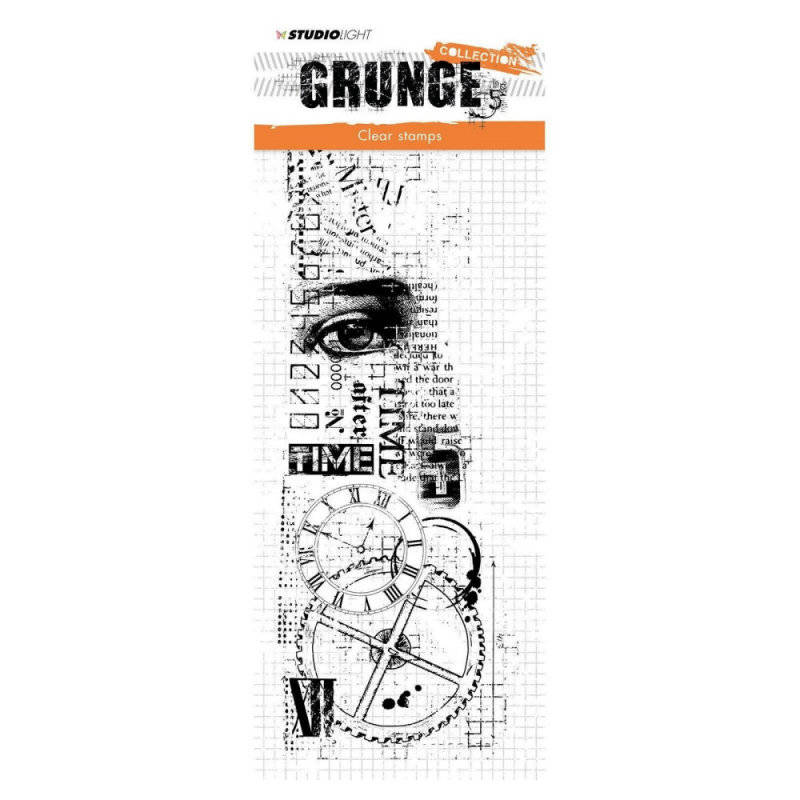 Studio Light - Clearstempel - Grunge Collection - nr 336