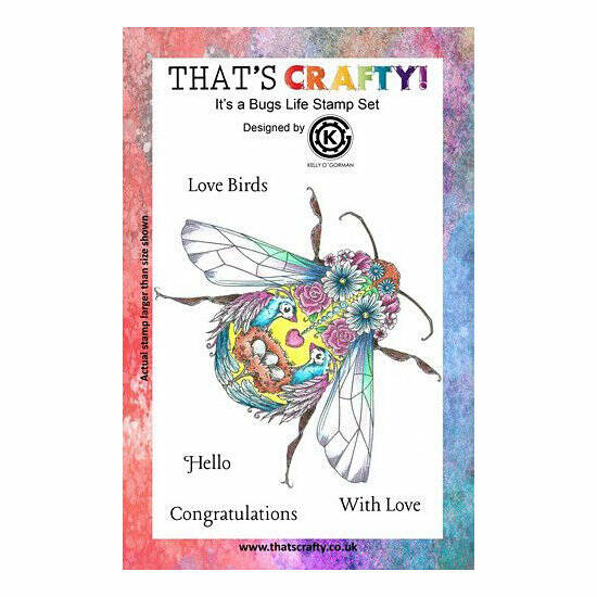 That's Crafty! - Clear Stamp Set - It's a Bugs Life