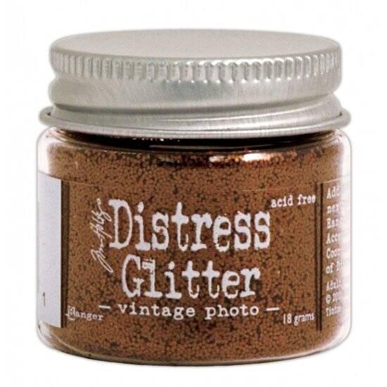 Ranger - Tim Holtz - Distress Glitter - Vintage photo