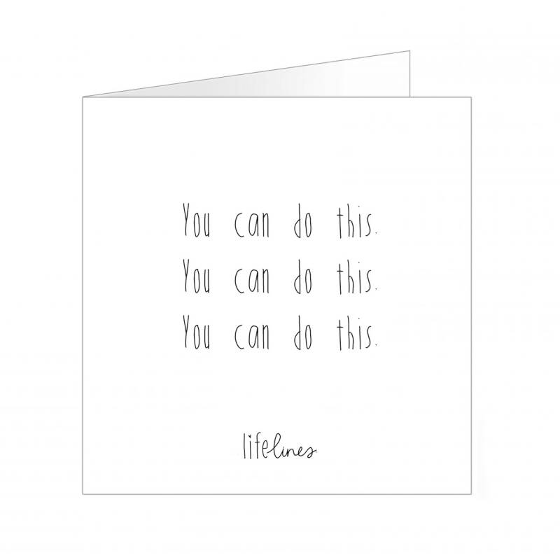 Wenskaart - You can do this