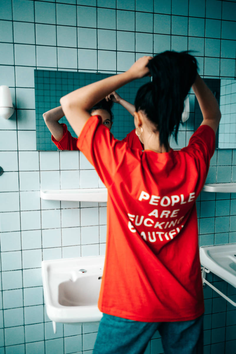 People are f# beautiful T-shirt