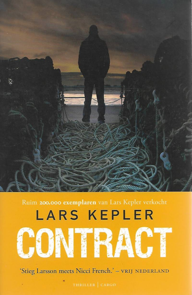 CONTRACT & GETUIGE & HYPNOSE 3 thrillers