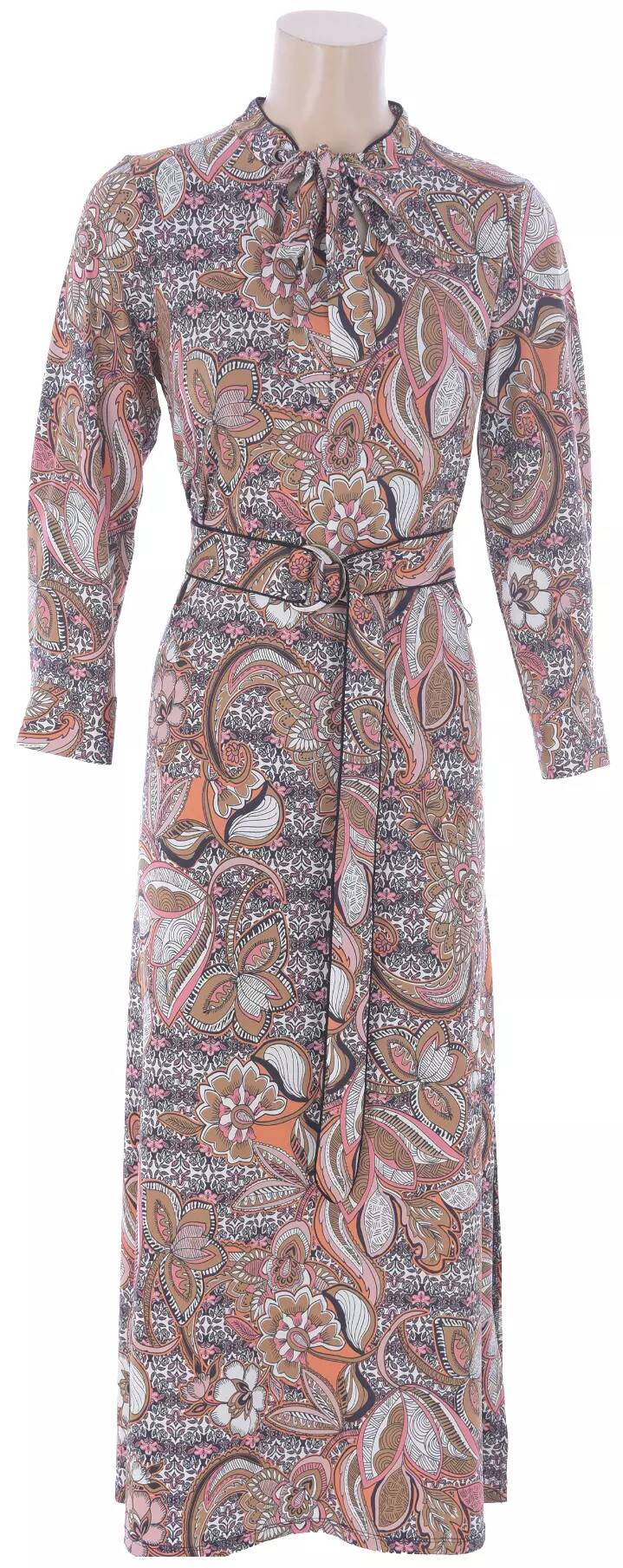Maxi dress met print K-design