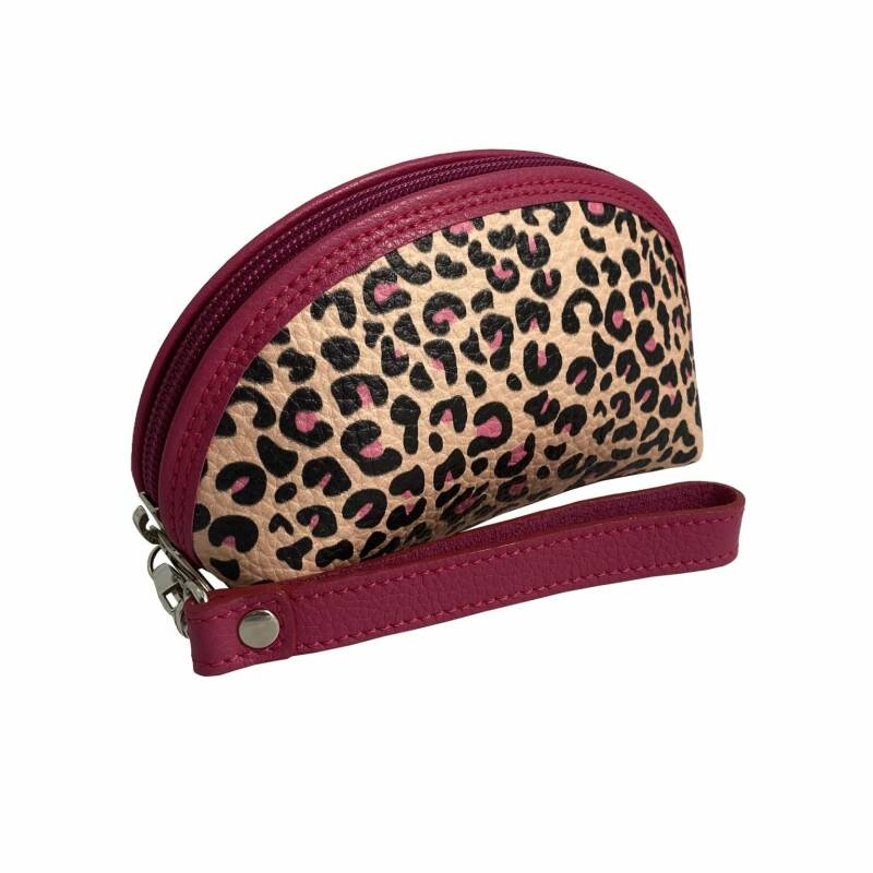 Isabel Leopard Collection mini Clutch