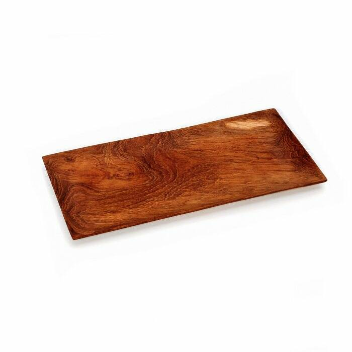The Teak Root Sushi Plate - M