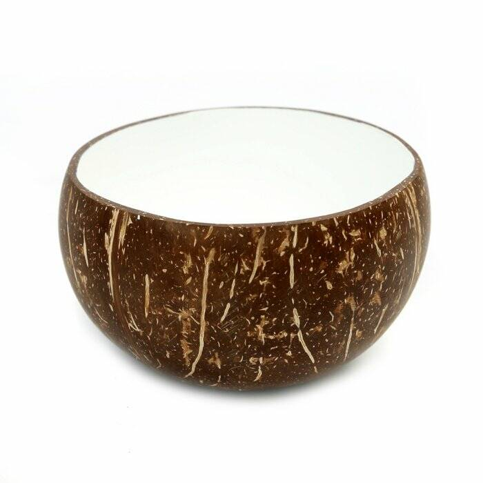 The Coco Food Bowl - Natural White