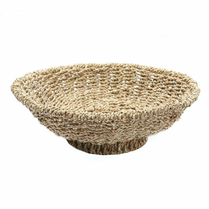 The Porto Seagrass Bowl - Natural