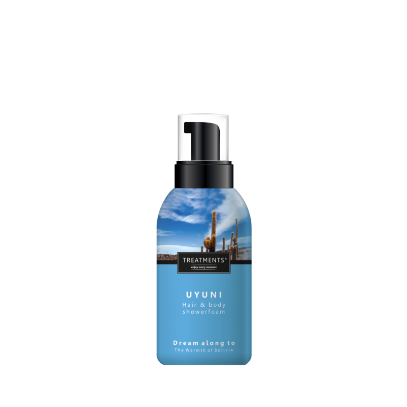 Hair & body shower foam Uyuni 250 ml
