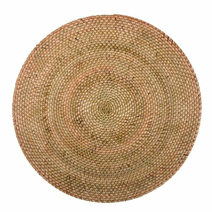 Placemat Rattan - Rond