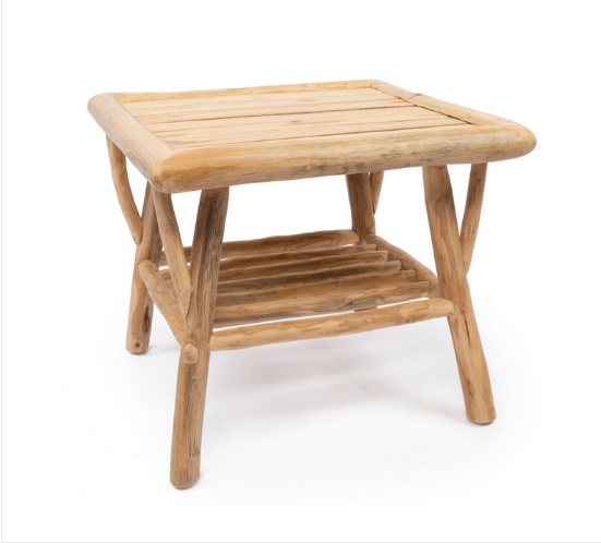 The Tulum Side Table - Natural