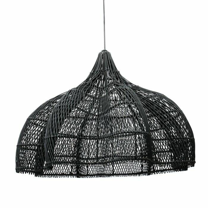 The Whipped Pendant - Black