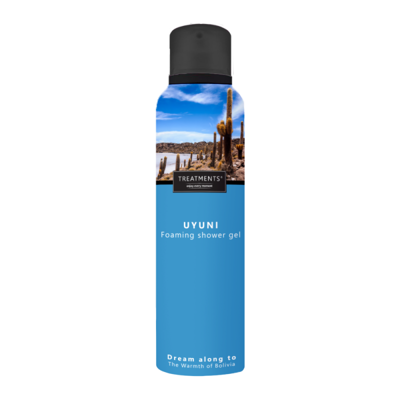 Foaming shower gel Uyuni 200 ml