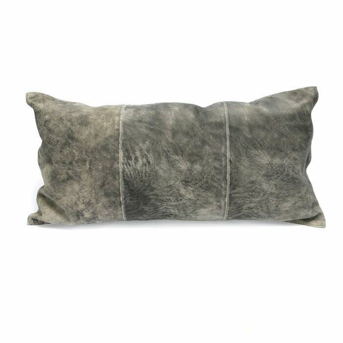 The Three Panel Suede Cushion
