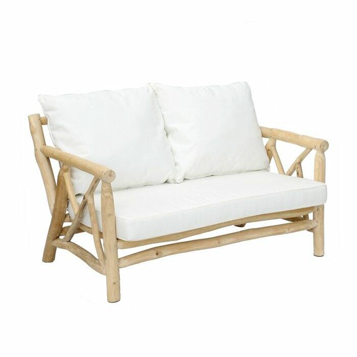 The Tulum Two Seater - Natural White