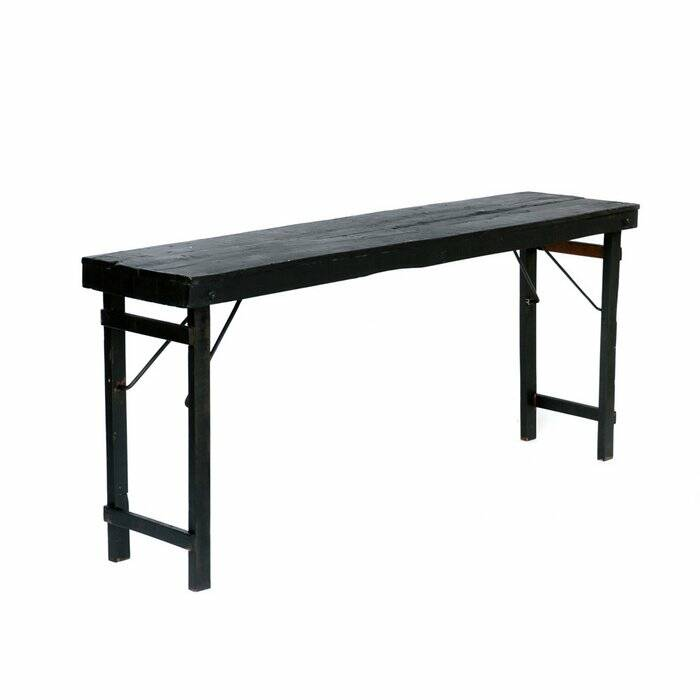 The Foldable Market Table - Black