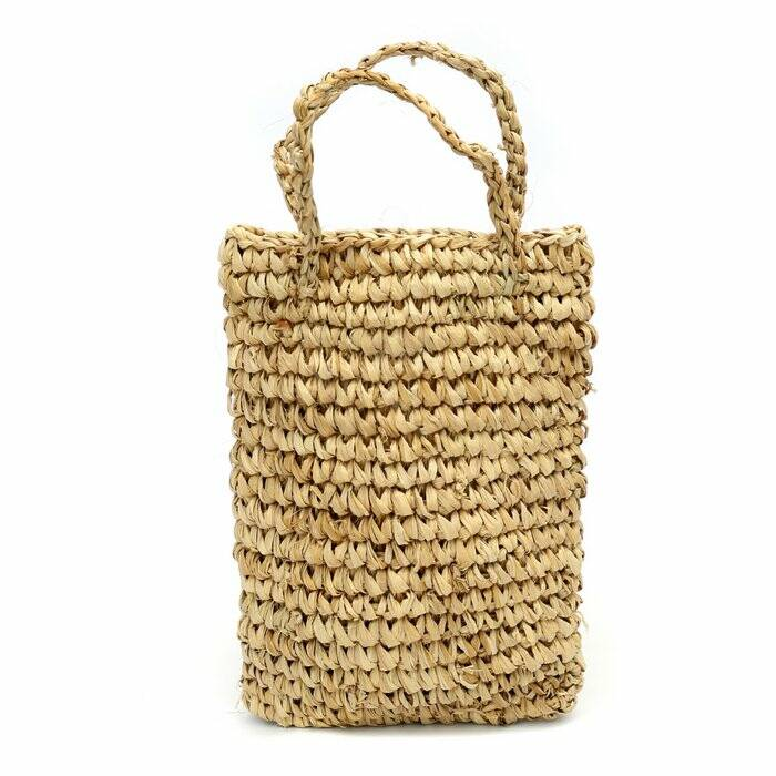 The Raffia Bottle Holder