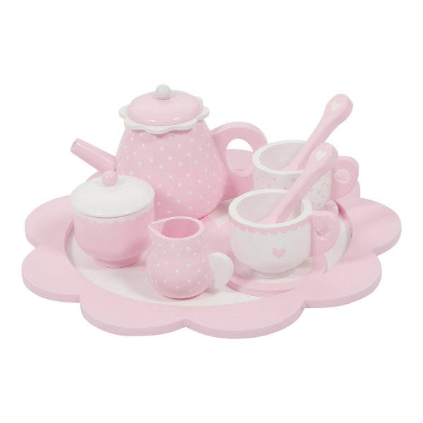 Little Dutch Theeservies Roze 4381