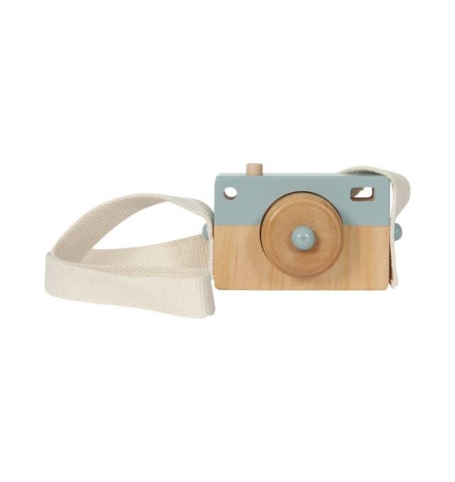 Little Dutch Houten Camera Blauw  LD4436