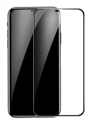 Apple iPhone 11 PRO en X / XS Tempered Glass Screen Protector 5D Black Full Cover