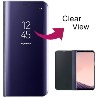 Clear View Standing Cover Galaxy S10 Plus
