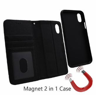 Band Lavann 2 in 1 Leather Book Case iPhone X / XS