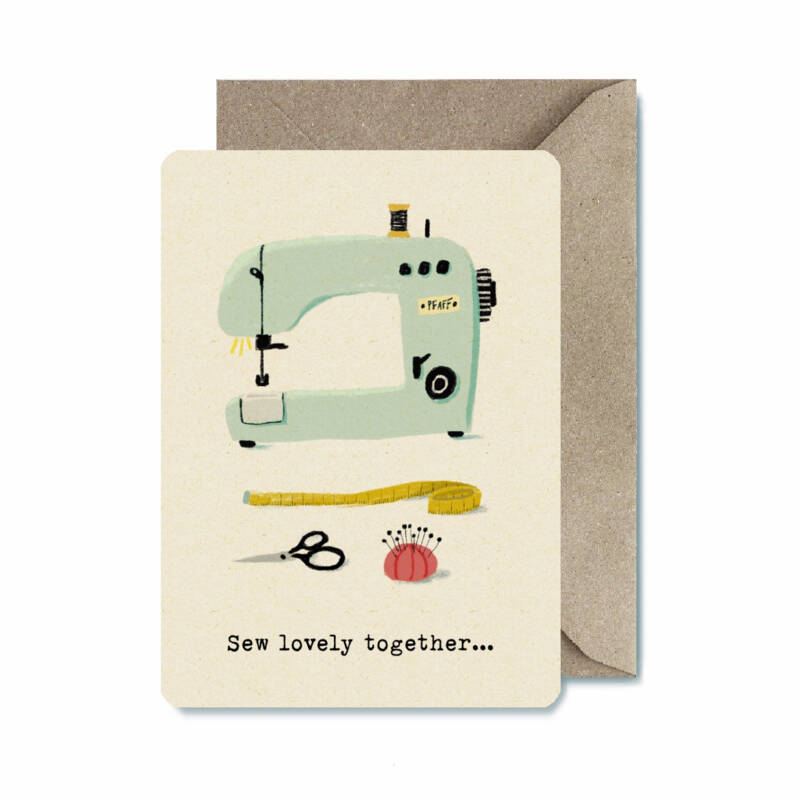 ILL | Ansichtkaart | Sew lovely together