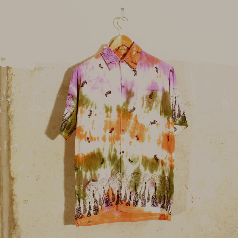A19. Tie Dye shirt - men's XXL