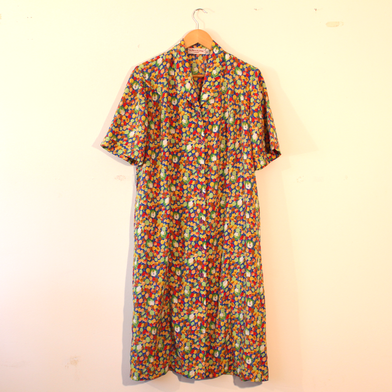cute floral print dress - size M