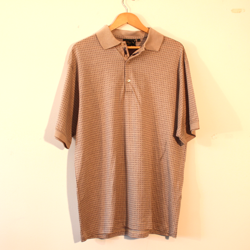 unique mens polo - size M
