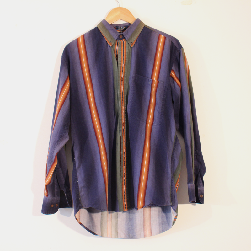 C3. striped long sleeve - Mens size M