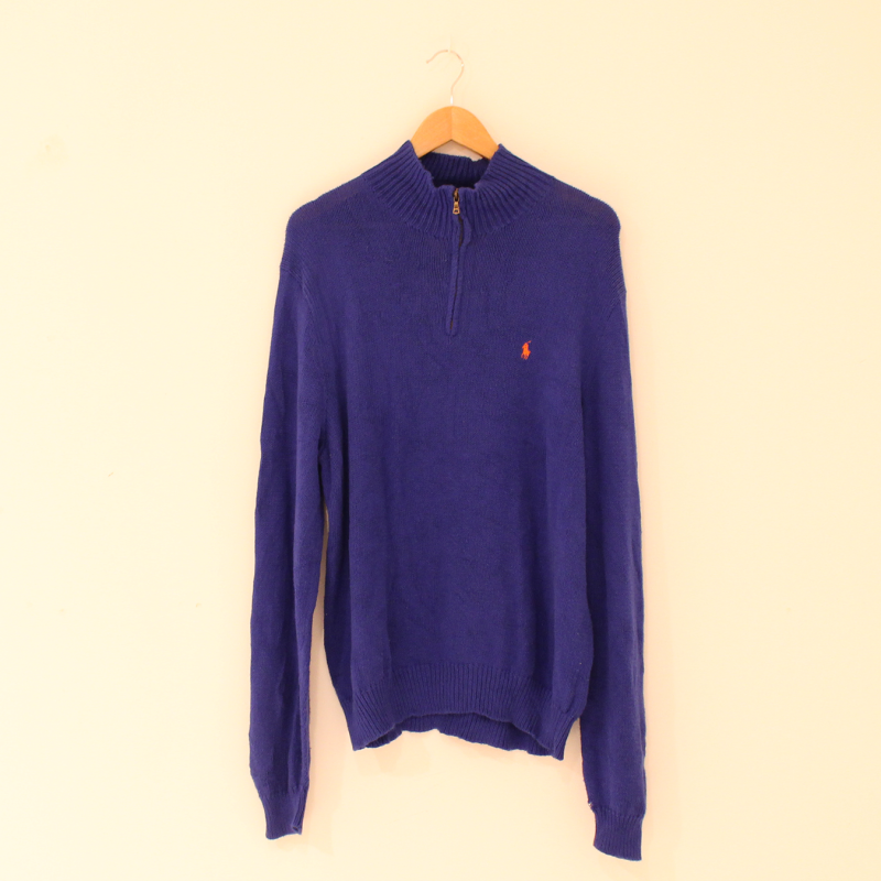 F19. Kingsblue Ralp Lauren jumper - size L