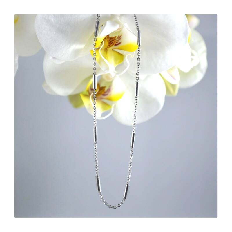 Silver plated ketting