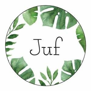 Juf | Sticker | SluitZegel