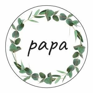 Papa | Sticker | SluitZegel
