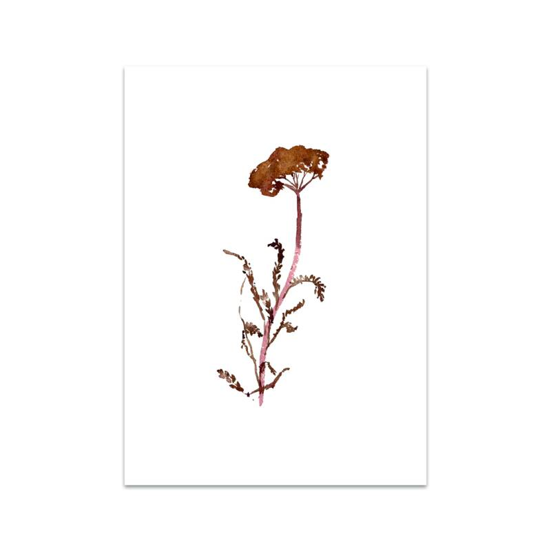 Dancing Dried Flower kaart