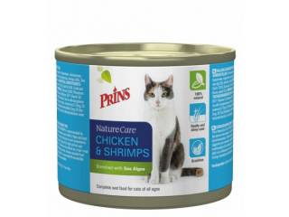 NatureCare Cat Chicken & Shrimps 2x200 gr
