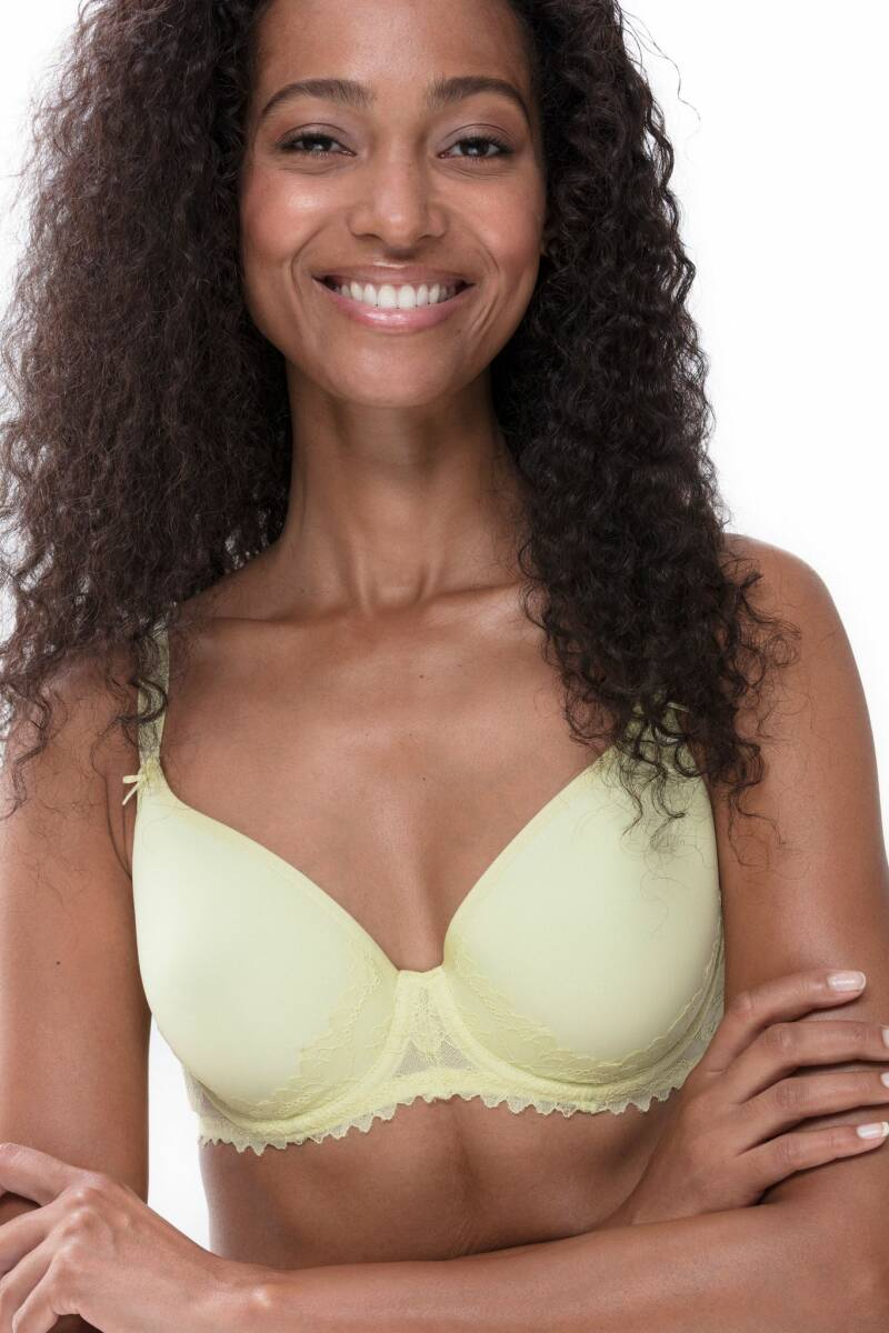 Mey Fabulous Spacer Full Cup Bra Pale Lime
