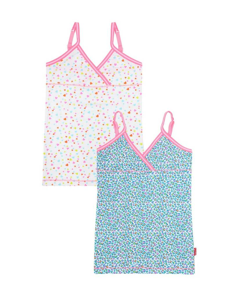 Claesen's Fashion Singlet 2-pack Panther Hearts