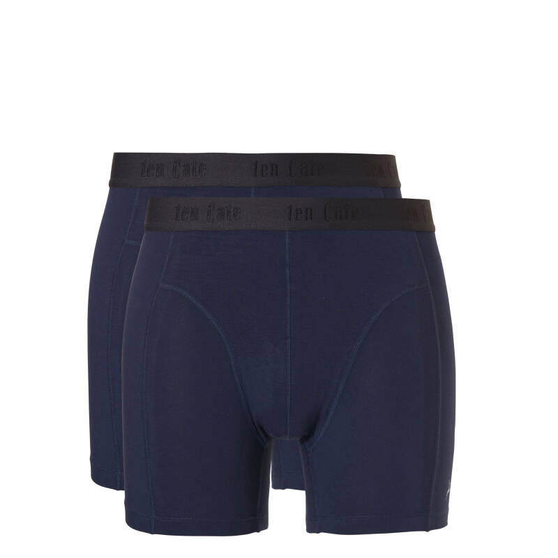 ten Cate Basic Bamboo Boxers 2-pack Navy