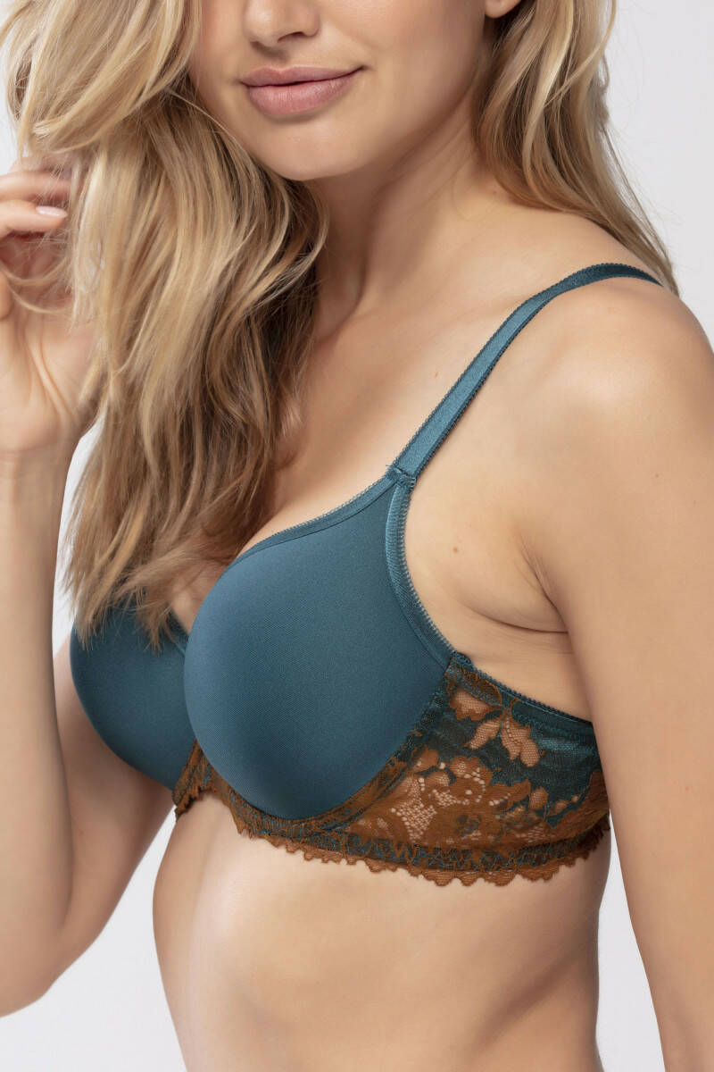 Mey Luxurious Spacer Full Cup Bra Stormy Sea
