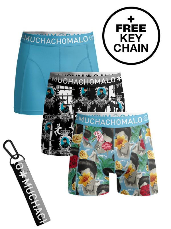 Muchachomalo Boys Boxers 3-pack King of Rock & Roll