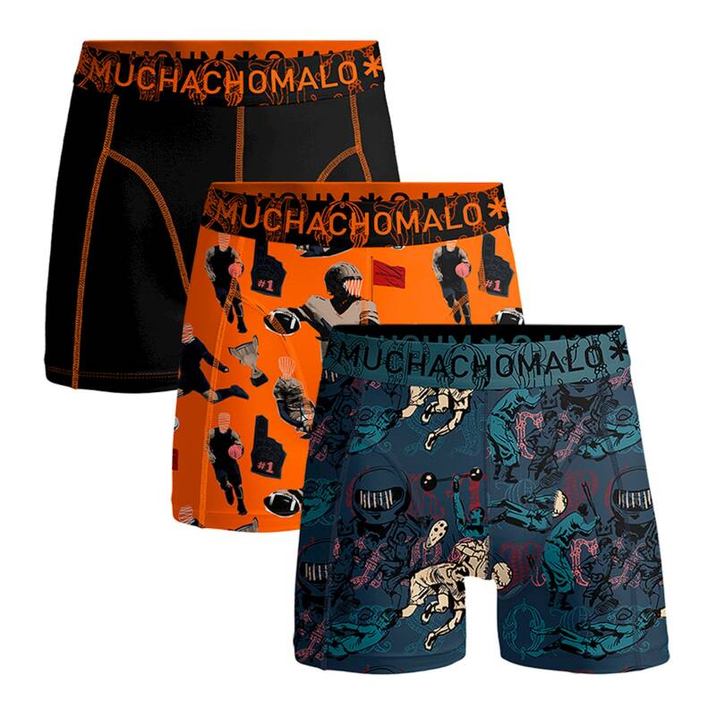 Muchachomalo Boys Boxers 3-pack Sports