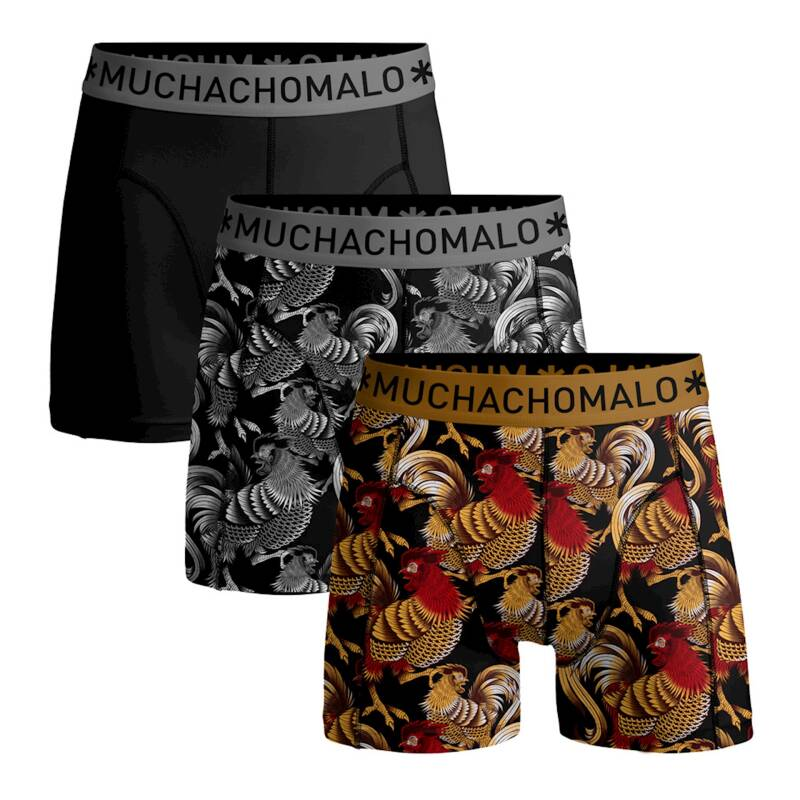 Muchachomalo Boys Boxers 3-pack Rooster